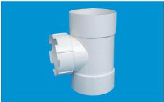 中亚排水管件90°三通