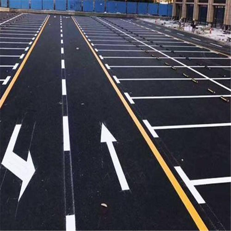 室外停车场划线